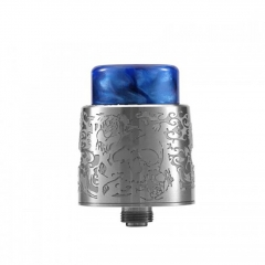 Authentic StageVape Venus 24mm RDA Rebuildable Dripping Atomizer w/ BF Pin - Silver