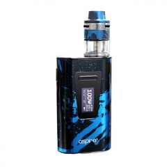 Authentic Aspire Typhon 100 100W 5000mAh TC VW Variable Wattage Box Mod w/ Revvo 24mm Tank 3.6ml Kit - Blue