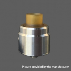 YFTK Flave Style 316SS RDA Rebuildable Dripping Atomizer w/ BF Pin - Silver