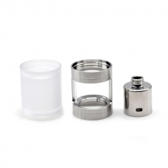 SER Mouth to Lung Kit Nano Kit for SR V4 - Silver