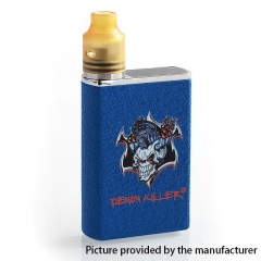 Authentic Demon Killer Tiny 800mAh Mod + 14mm RDA Kit - Blue