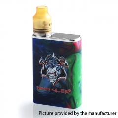 Authentic Demon Killer Tiny 800mAh Mod + 14mm RDA Kit - Rainbow