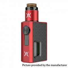 Authentic GeekVape Athena Squonk Mechanical Box Mod w/BF RDA Kit - Red + Gun Metal