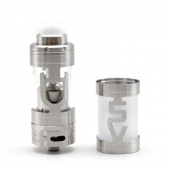ULTON Mini v5 v5s 23mm RTA Rebuildable Tank Atomizer 4.2ml - Silver