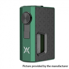 Authentic GeekVape Athena Squonk Mechanical Box Mod - Green + Gun Metal