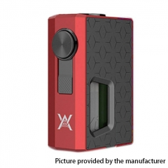 Authentic GeekVape Athena Squonk Mechanical Box Mod - Red + Gun Metal