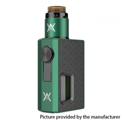 Authentic Athena Squonk Mechanical Box Mod w/BF RDA Kit - Green + Gun Metal