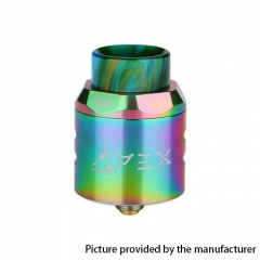 Authentic Timesvape APEX 25mm RDA Rebuildable Dripping Atomizer w/ BF Pin - Rainbow