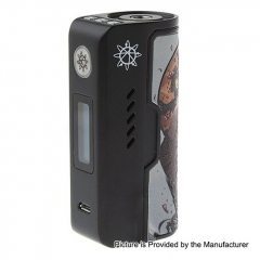 Authentic Dovpo Rogue 100W 18650/26650 TC VW Variable Wattage Box Mod - Black Enchantress
