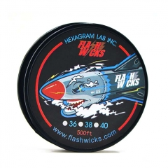 Authentic Flashwicks Ni80 Wire 500 Feet (38 Gauge)