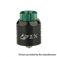 Authentic Timesvape APEX 25mm RDA Rebuildable Dripping Atomizer w/ BF Pin - Black