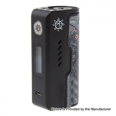 Authentic Dovpo Rogue 100W 18650/26650 TC VW Variable Wattage Box Mod - Black Dragon Warrior