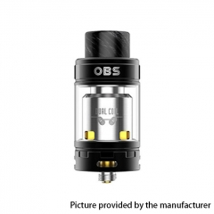 Authentic OBS Crius II Dual Coil 25mm RTA Rebuildable Tank Atomizer 4ml - Black
