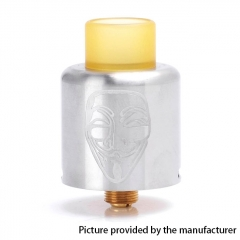 Authentic Timesvape Mask 22mm RDA Rebuildable Dripping Atomizer w/ BF Pin - Silver