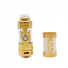 ULTON Mini v5 v5s 23mm RTA Rebuildable Tank Atomizer 4.2ml - Gold
