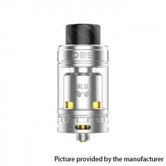 Authentic OBS Crius II Dual Coil 25mm RTA Rebuildable Tank Atomizer 4ml - Silver