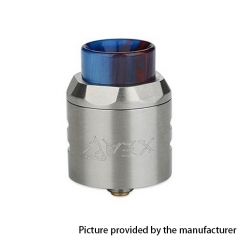 Authentic Timesvape APEX 25mm RDA Rebuildable Dripping Atomizer w/ BF Pin - Silver