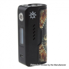 Authentic Dovpo Rogue 100W 18650/26650 TC VW Variable Wattage Box Mod - Black Dragon