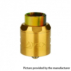Authentic Timesvape APEX 25mm RDA Rebuildable Dripping Atomizer w/ BF Pin - Gold