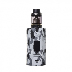Authentic Vapor Storm Puma 200W TC VW APV Mod Kit w/2ml Clearomizer - Gray Camo