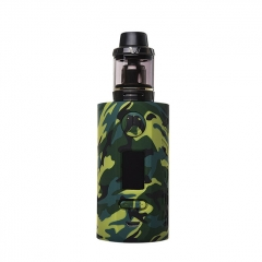 Authentic Vapor Storm Puma 200W TC VW APV Mod Kit w/2ml Clearomizer - Green Camo