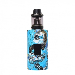 Authentic Vapor Storm Puma 200W TC VW APV Mod Kit w/2ml Clearomizer - Blue
