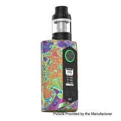 Authentic Blade 235W TC VW Variable Wattage Box Mod + Aero Tank Kit - Starry Night