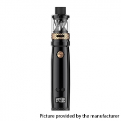 Authentic Uwell Nunchaku 80W 18650 TC VW Variable Wattage Mod w/ Clearomizer 5ml Kit - Black Gold