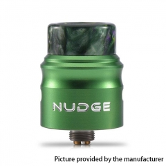 Authentic Wotofo Nudge 24mm RDA Rebuildable Dripping Atomizer w/ BF Pin - Green