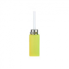 Replacement Arctic Dolphin Squonk Bottle Silicone Bottle Square Exhaust 8ml 1pc - Yellow