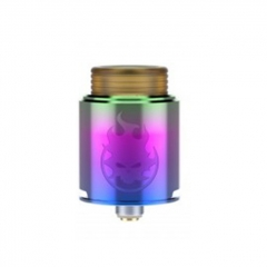 Phobia Style 24mm RDA Rebuildable Dripping Atomizer w/ BF Pin - Rainbow