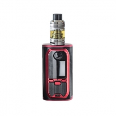 Authentic Modefined Lyra 200W VW TC Temperature Control  APV Box Mod w/ Clearomizer Kit - Black Red