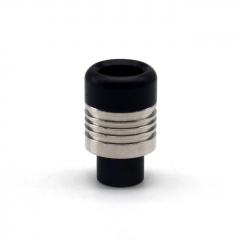 ULTON 510 Prime Stainless Steel Drip Tip for Ding Prime/ Korina 2pcs - Black