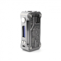 Authentic Teslacigs Punk 85W VW TC Temperature Control APV Box Mod - Gun Metal