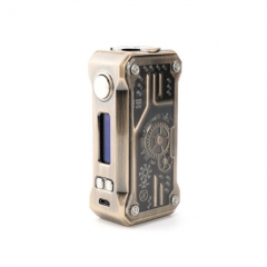 Authentic Teslacigs Punk 85W VW TC Temperature Control APV Box Mod - Bronze