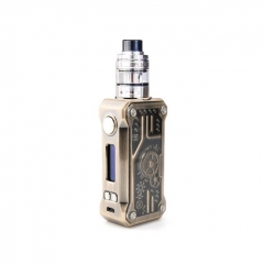 Authentic Teslacigs Punk 85W VW TC Temperature Control APV Box Mod w/2ml H8 Mini Tank Kit - Bronze