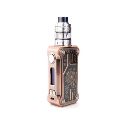 Authentic Teslacigs Punk 85W VW TC Temperature Control APV Box Mod w/2ml H8 Mini Tank Kit - Copper