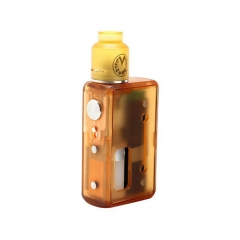 Vzone Simply Squonk 18650/20700/21700 Mechanical Box Kit w/5ml Bottle - Frosted Gold