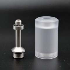 (Ships from Germany)ULTON Bell Cap + Chimney for Flash-e-vapor v4/ Fev4 - White