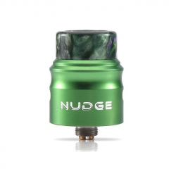 Authentic Wotofo Nudge 22 BF RDA Rebuildable Dripping Atomizer w/BF Pin - Green