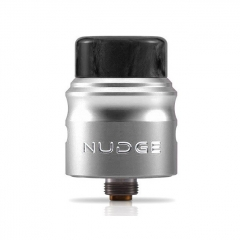 Authentic Wotofo Nudge 22 BF RDA Rebuildable Dripping Atomizer w/BF Pin - Silver