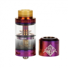 Authentic Uwell Fancier RTA/RDA Rebuildable Tank/Dripping Atomizer 4ml - Purple