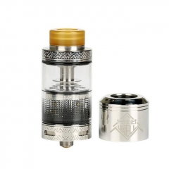 Authentic Uwell Fancier RTA/RDA Rebuildable Tank/Dripping Atomizer 4ml - Silver
