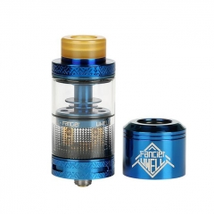 Authentic Uwell Fancier RTA/RDA Rebuildable Tank/Dripping Atomizer 4ml - Blue