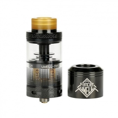Authentic Uwell Fancier RTA/RDA Rebuildable Tank/Dripping Atomizer 4ml - Black