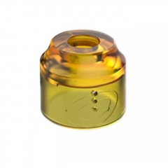 Authentic Vapefly Replacement PMMA Top Cap for Galaxies MTL RDA - Translucent Orange