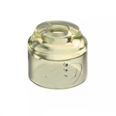 Authentic Vapefly Replacement PMMA Top Cap for Galaxies MTL RDA - Translucent Yellow