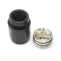 Goon 1.5 Style 22mm RDA Rebuildable Dripping Atomizer w/ BF Pin - Black