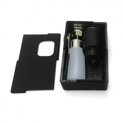 Goon Squonker Style 18650 ABS Squonk Mechanical Box Mod w/8ml Bottle + Goon 1.5 Style RDA - Black