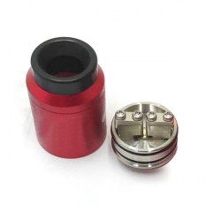 Goon 1.5 Style 22mm RDA Rebuildable Dripping Atomizer w/ BF Pin - Red
